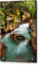 Acrylic Print featuring the photograph Cut Through The Heart by Expressive Landscapes Fine Art Photography by Thom