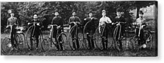 Cycle Club Acrylic Print by Hulton Archive