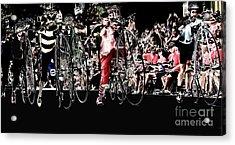 Cycling High  Acrylic Print by Steven Digman