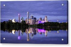 Acrylic Print featuring the photograph Dallas Cityscape by Robert Bellomy