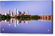 Dallas Texas Houston Street Bridge Acrylic Print