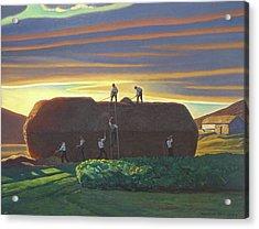 Dan Wards Stack Ireland Acrylic Print by Rockwell Kent