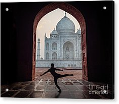 Dancer At The Taj Acrylic Print