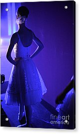 Dancer Standing Backstage Waiting For Acrylic Print