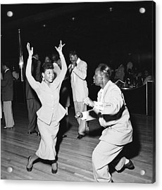 Dancing At The Savoy Ballroom Acrylic Print by Graphic House