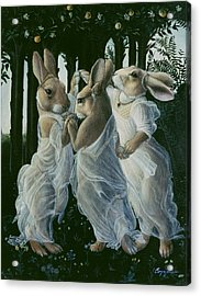 Dancing Graces Acrylic Print