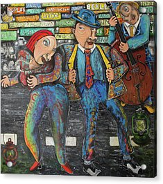 Dancing In The Street Acrylic Print