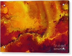 Daniel 6 27. He Delivers And Rescues Acrylic Print