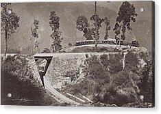 Darjeeling Train Acrylic Print by Hulton Archive