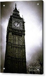 Dark Big Ben Acrylic Print