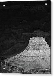 Dark Grand Canyon Acrylic Print