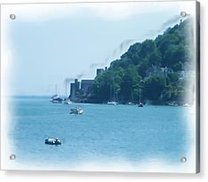 Dartmouth Castle Painting Acrylic Print