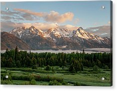 Dawn At Grand Teton National Park Acrylic Print