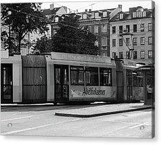 Day Tram Train Acrylic Print