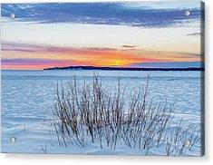 Daybreak Over East Bay Acrylic Print