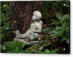 Acrylic Print featuring the photograph Daydreaming by Dale Kincaid