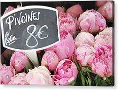 De Couleur Rose Acrylic Print