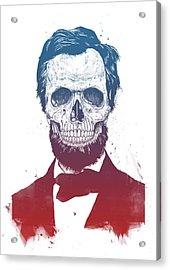 Dead Lincoln Acrylic Print