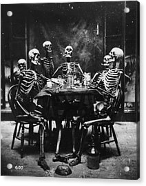 Deathly Diners Acrylic Print