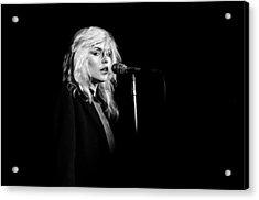 Debbie Harry Performs Live Acrylic Print by Richard Mccaffrey