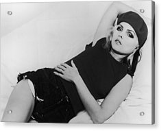 Deborah Harry Acrylic Print by Hulton Archive