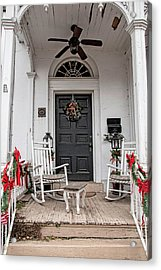 Acrylic Print featuring the photograph Deck The Porch by Kristia Adams