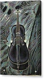 Deep Cello Acrylic Print