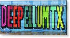 Deep Ellum Wall Art Acrylic Print