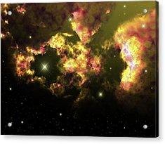 Deep Space Clouds 2 Acrylic Print