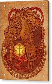 Demons Of Goetia Haures / Flauros Acrylic Print by Cambion Art