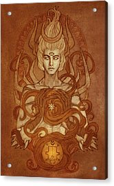 Demons Of Goetia- Vassago Acrylic Print