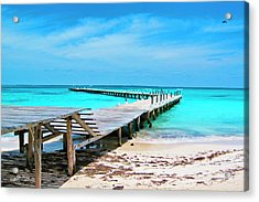 Departure Point Acrylic Print
