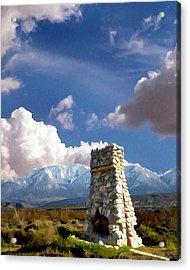 Desert Host Impressions Acrylic Print