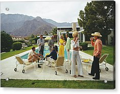 Desert House Party Acrylic Print