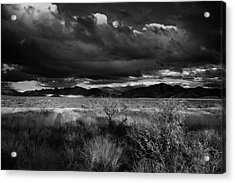 Acrylic Print featuring the photograph Desert Shadow Moods by Chance Kafka