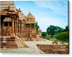 Devi Jagdambi Temple, Dedicated To Acrylic Print