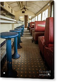 Acrylic Print featuring the photograph Diner Version 2 by Terry Rowe