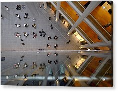 Directly Above Shot Of People Outside Acrylic Print by Atsushi Fujikawa / Eyeem