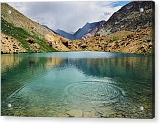 Acrylic Print featuring the photograph Distant Rains by Whitney Goodey
