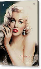 Diva Mm 169 Rose Acrylic Print