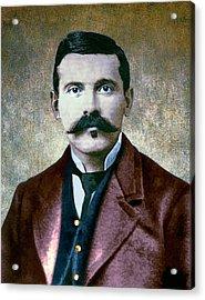 Doc Holliday Painterly Acrylic Print