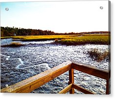Dock Point Acrylic Print