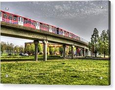 Docklands Light Railway Train  Acrylic Print