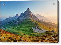 Dolomites Landscape Acrylic Print