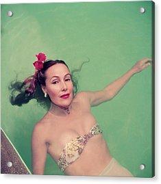 Dolores Del Rio Acrylic Print