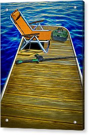 Done Fishing Acrylic Print