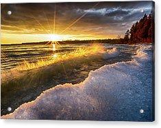 Door County Sunset Acrylic Print