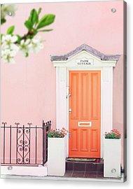 Door To Pastel Heaven Acrylic Print