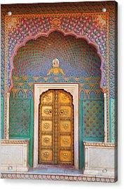 Doorway Acrylic Print by Grant Faint