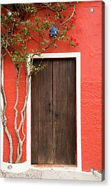 Doorway Acrylic Print by Livingimages